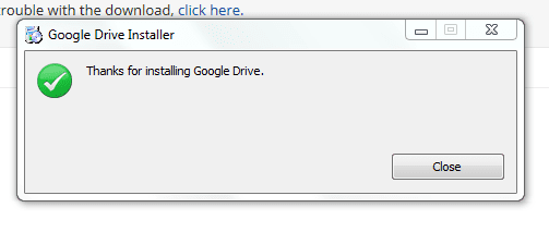 confirm install on IE