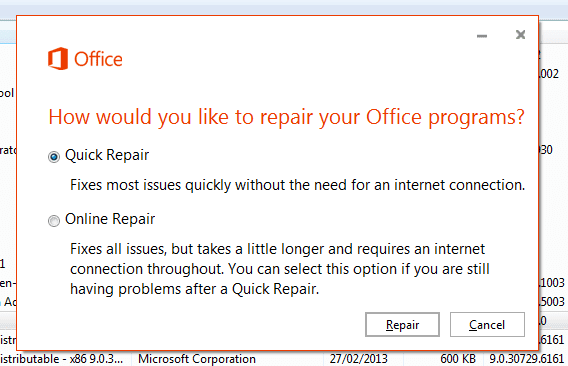 How to fix office 3652013 activation or unlicensed product office 365 repair fandeluxe Choice Image
