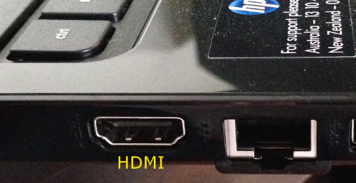 HDMI-Laptop
