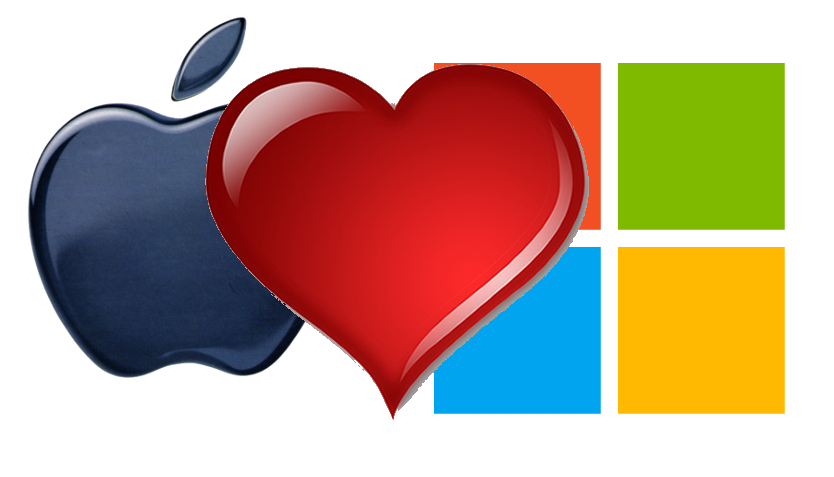love-apple-microsoft