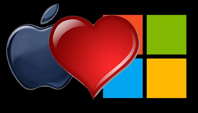 love-apple-microsoft