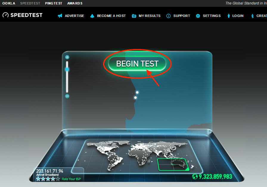 speedtest-ookla-start-test