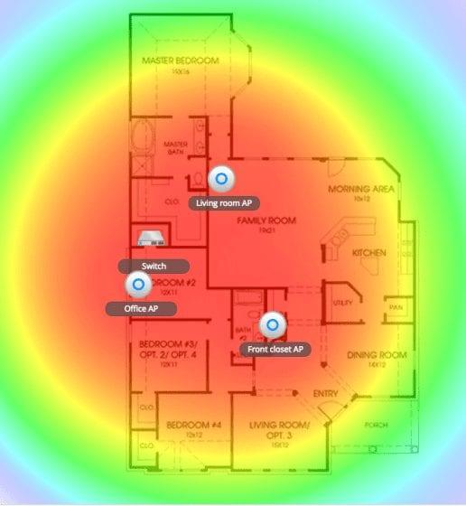 WAP heatmap