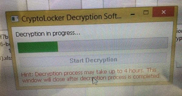 decryption-started