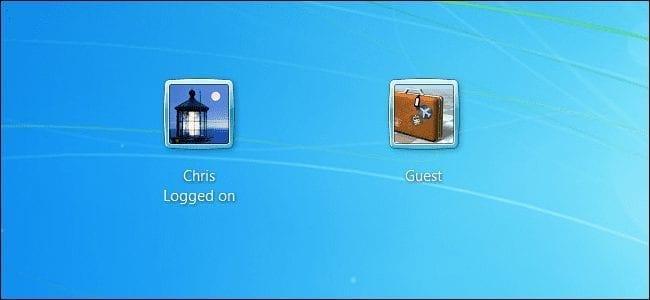 guest user windows