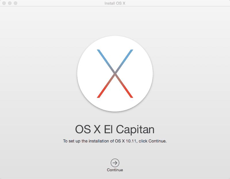 OSX El Captain