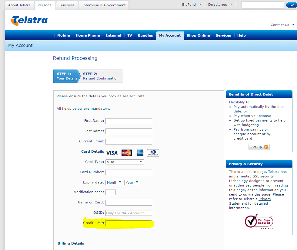 Fake-Telstra-Refund-Bill-creditcard-page