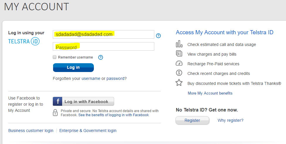 Fake-Telstra-Refund-Bill-login-page