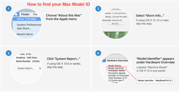 local mac model id