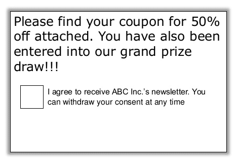 agree-newsletter-spam