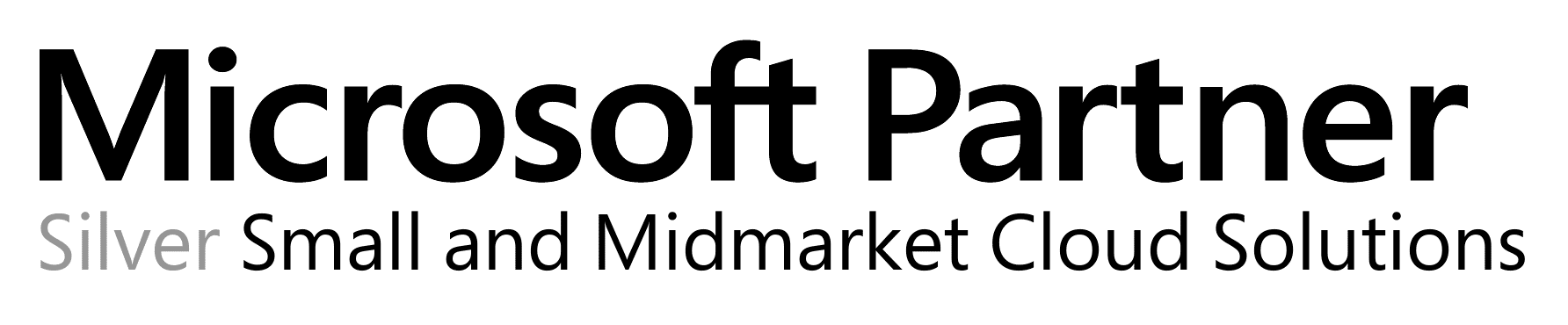Microsoft Silver Authorised Partner