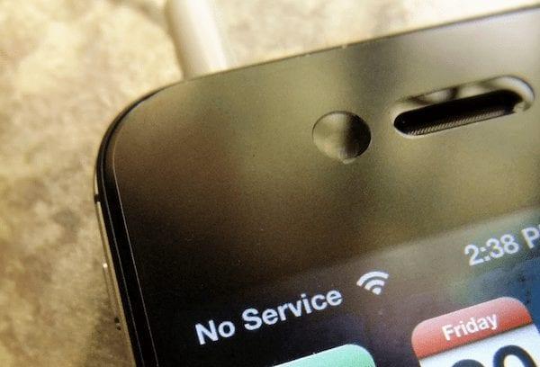 no mobile signal