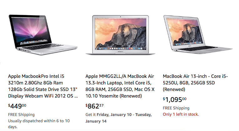 2nd hand macbooks for sale