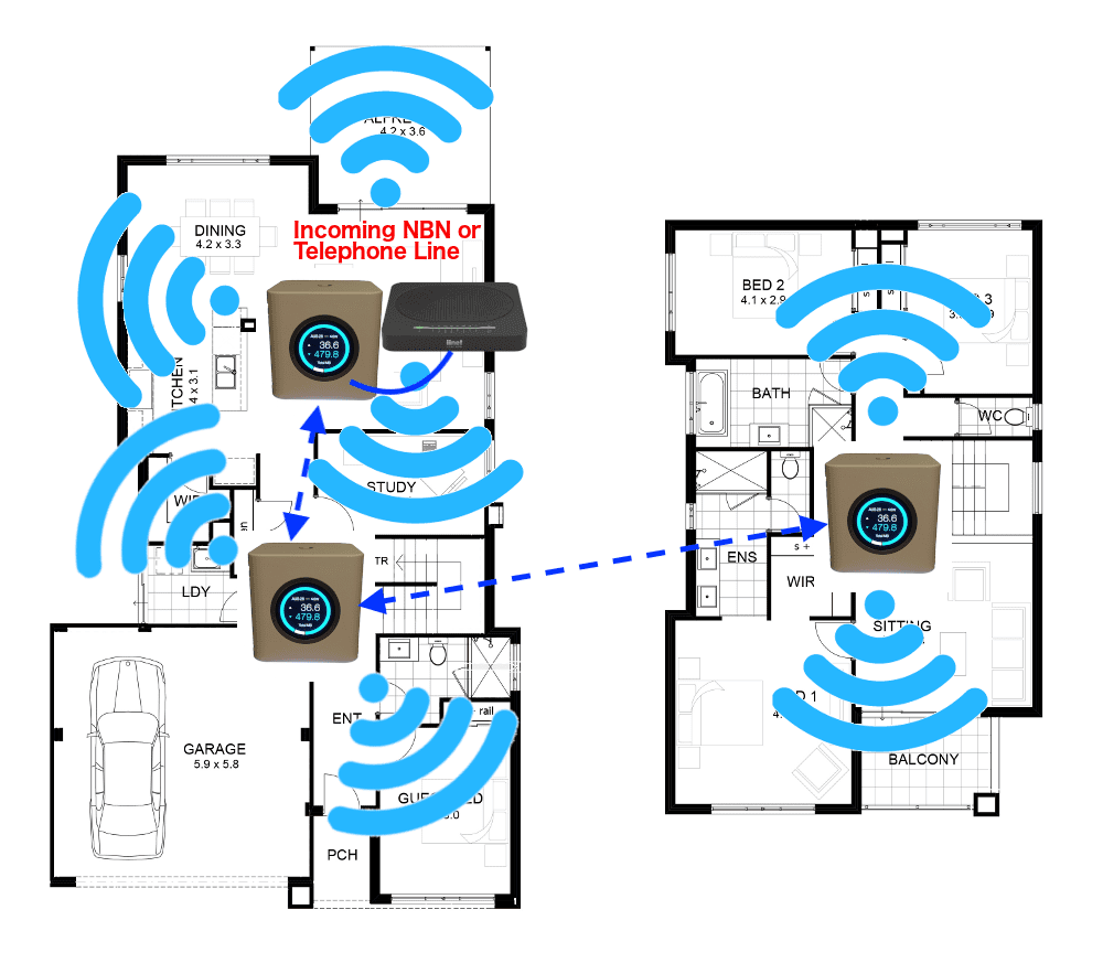 multi storey amplifi solution