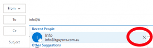 remove-auto-complete-entry winmail.dat